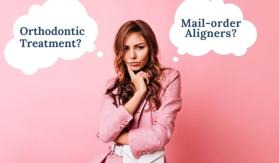 What is the difference between mail-order aligners and orthodontic treatment by an orthodontist?