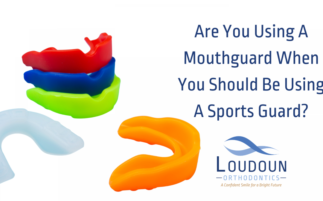 Are You Using a Mouthguard When You Should be Using a Sports Guard?