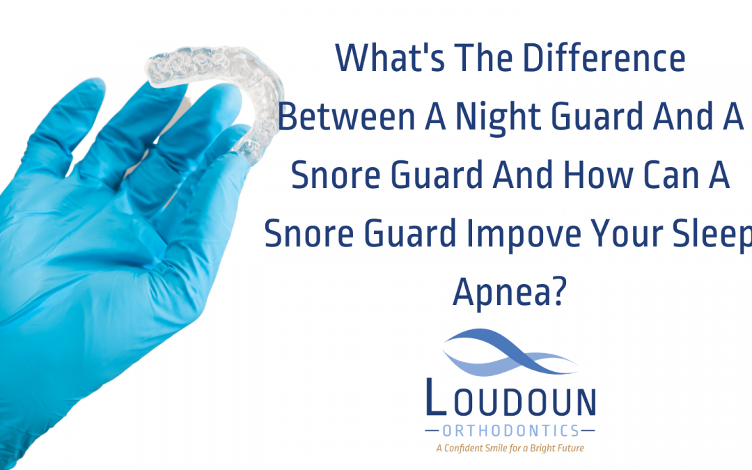 What's The Difference Between A Night Guard And A Snore Guard And How Can A Snore Guard Improve Your Sleep Apnea?